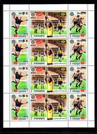 Soccer World Cup 1970 - YEMEN - Sheet MNH - 1970 – Mexique