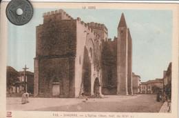 32 -Très Belle Carte Postale Ancienne De  SIMORRE  L'Eglise - Other Municipalities