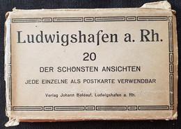 CPA - LUDWIGSHAFEN A.RHEIN - Carnet Complet De 20 Vues - Edition Johann Baldauf (certaines Vues Animées) - Ludwigshafen
