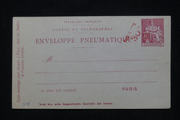 FRANCE - Pneumatique Type Chaplain Surchargé Taxe Réduite 30c, Non Circulé - L 92548 - Neumáticos