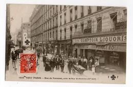 PARIS * RUE DE TURENNE * Près RUE SAINT ANTOINE * VINS COMPTOIR LIQUORISTES* BIERE MORITZ * ABSINTHE * Animation - Ambachten In Parijs