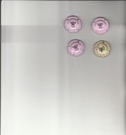 E 1 - 4 Capsules  Champagne Waquelin Fauvet - Altri