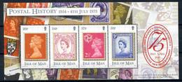 ISLE Of MAN 2001 - 75th Anniv QUEEN ELIZABETH II - Bloc 43 Mi 917-920 MNH ** Cv€5,00 J355 - Isla De Man