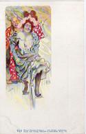 Walter HAMPEL - Philipp & Kramer VI/1 - Femme à Bicyclette (6034 ASO) - Altre Illustrazioni