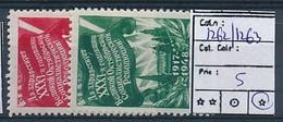 RUSSIA  YVERT 1262/1263 LH - Ungebraucht