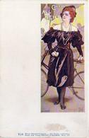 Walter HAMPEL - Philipp & Kramer VI/6 - Femme Et Bicyclette (6038 ASO) - Altre Illustrazioni