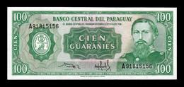 Paraguay 100 Guaraníes L.1952 (1982) Pick 205 Sign 3 SC UNC - Paraguay