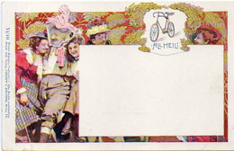 Walter HAMPEL - Philipp & Kramer VI/10 - Femme Et Bicyclette (6041 ASO) - Altre Illustrazioni