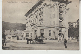Corse  BASTIA Hôtel Cyrano Palace (animation, Attelage) - Bastia