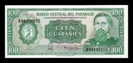 Paraguay 100 Guaraníes L.1952 (1982) Pick 205 Sign 4 SC UNC - Paraguay