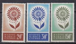 Europa-Zypern 1964 ** Mic: 240-42 / Xz593 - Unused Stamps