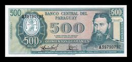 Paraguay 500 Guaraníes L.1952 (1982) Pick 206 Sign 5 SC UNC - Paraguay
