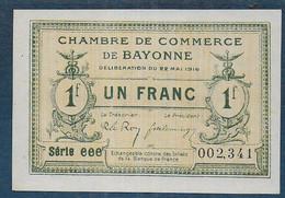 Chambre De Commerce De Bayonne - 1 Franc  - Pirot N° 32 - Chamber Of Commerce