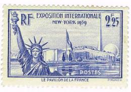 France, N° 426 Exposition Internationale De New York - Neufs