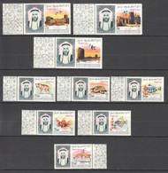 XX020 1965 UMM AL QIWAIN ANIMALS & FAUNA MARINE LIFE ARCHITECTURE SILVER #40-48 MICHEL 14 EURO 1SET MNH - Sonstige