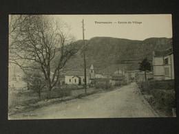 Ref6209 CPA Tournemire (Aveyron) - Entrée Du Village édition Baldet - Andere Gemeenten