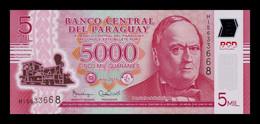 Paraguay 5000 Guaraníes 2016 Pick 234b Polymer SC UNC - Paraguay