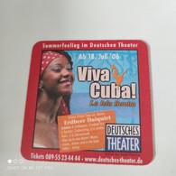 Deutsches Theater - Viva Cuba /  Africa Footprint - Portavasos