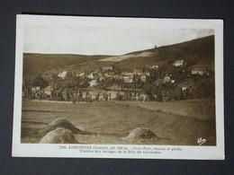Ref6214 CPA Lorcières (Cantal) - Bête Du Chevaudan Chasse Et Pêche Alt 840m Vue Générale N°7246 - Andere Gemeenten