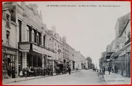 85 - LA ROCHE Sur YON (Vendée) - La Rue Des Sables - Les Nouvelles Galerie - La Roche Sur Yon