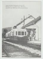 BELLEGARDE-DIVONNE Dernier Jour 31 Mai 1980 De La MICHELINE En Gare De DIVONNE-GEX-PARADIS - Ohne Zuordnung