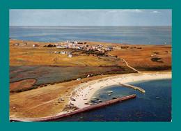 56 Ile Hoedic Le Port Et Le Village ( Vue Aérienne ) - Sonstige Gemeinden
