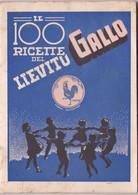 """Pubblicità   Lievito Gallo """" Le 100 Ricette Del..."""" - Pag. 35  -  Tipogr. M. Dossi  & C., Trento - House & Kitchen"""