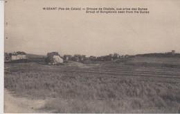 62 - PAS DE CALAIS - WISSANT - GROUPE DE CHALETS - Wissant