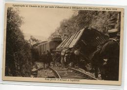 43 BRUGEILLES 28 Mars 1934  Accident TRain  Suite Eboumlement  Voie Ferrées D' Arvant à Capdenac D07 2021 - Sonstige Gemeinden
