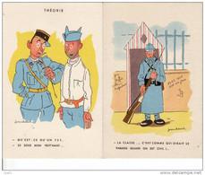 Lot De 2 Cartes Postales Humour Militaire De Jean Cheval Neuves. Les Classes: Garde, Le 75? - Humor
