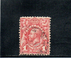 AUSTRALIE 1913-4 O - Used Stamps
