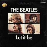 """SP 45 RPM (7"""") The Beatles  """"  Let It Be """"  Japon - Rock"""