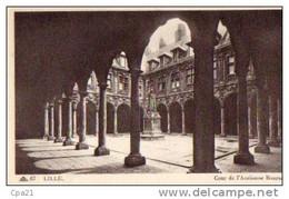 CPA LILLE Cour De L'ancienne Bourse - Lille