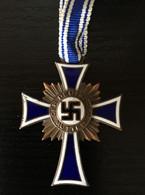 """Deutsches Reich, Medal, Orden, """" MUTTERKREUZ """" In Bronze, 1938 ! - Germania"""