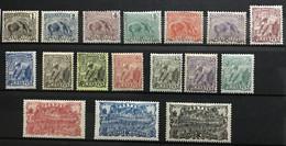 GUYANE 1904 - NEUF*/MH - Série Complète YT 49 / 65 - CV 34 EUR - Nuovi
