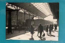 Automotrice SNCF Z 5100 Autorail X 3800 - Photo Gare Paris Montparnasse - 1963 - France Ouest Seine 75 Train Loc Budd - Trains