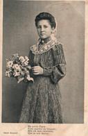 Jeune Fille En Costume De Touraine: Ma Petite Payse - Carte, Cliché Robert, Postée De Souvigné (Indre-et-Loire) - Trachten
