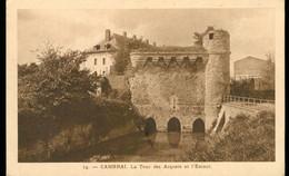 CPA CAMBRAI - La Tour Des Arquets Et L'Escaut  - Circulée 1936 - Cambrai