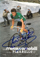 CARTE CYCLISME LUCIEN VAN IMPE SIGNEE TEAM METAUROMOBILI 1982 - Cycling