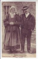 X56078 ⭐ Environs VANNES Couple PAYSANS 1910s Annotée ABEL Et Sa GAGNOUSSE- Collection DAVID 608 Morbihan - Vannes