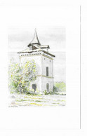 Pigeonnier Du Midi Languedocien Aquarelle : O. Fischer  APA POUX - Albi N° 14 - Andere Illustrators