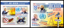 DJIBOUTI 2021 - President Joe Biden, M/S + S/S. Official Issue [DJB210120] - Ohne Zuordnung