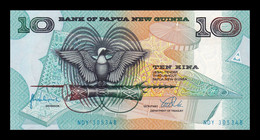Papua New Guinea 10 Kina 1998 Pick 9e SC UNC - Papua New Guinea