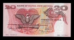 Papua New Guinea 20 Kina 1989-1992 Pick 10a SC UNC - Papua New Guinea