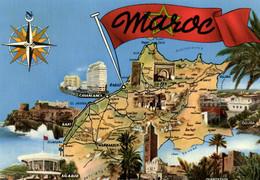 E 3602 - Maroc   Casablanca  Agadir  Essaouira   Safi  Fès  Ouarzazate  Oujda  Rabat  Meknès  El Jadida - Other