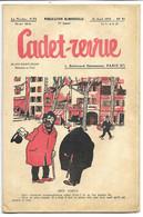 CADET-REVUE - Alain SAIT-OGAN - N°55 10/04/1935 - Bon état - BD - ZIG Et PUCE - Andere Tijdschriften