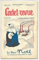 CADET-REVUE - Alain SAIT-OGAN - N°48 15/12/1934 - Bon état - BD - ZIG Et PUCE - Andere Tijdschriften