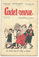 CADET-REVUE - Alain SAIT-OGAN - N°49 01/01/1935 - Bon état - BD - ZIG Et PUCE - Andere Tijdschriften
