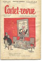 CADET-REVUE - Alain SAIT-OGAN - N°50 - 15/01/1935 - BD - ZIG Et PUCE - Andere Tijdschriften