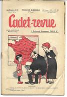 CADET-REVUE - Alain SAIT-OGAN - N°52 - 25/02/1935 - Etat Moyen (voir Description) - BD - ZIG Et PUCE - Andere Tijdschriften